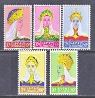 ETHIOPIA  415-19     **   QUEEN  OF  SHEBA,  PRINCESSES - Ethiopia