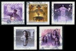 Canada (Scott No.2936-40 - Le Canada Hanté / Haunted Canada) (o) Set - 1952-.... Règne D'Elizabeth II