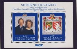 LIECHTENSTEIN 1992  BLOC  COUPLE PRINCIER  YVERT N°17  NEUF MNH** - Blocs & Feuillets