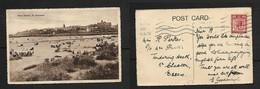 West Sands, St Andrews, Used 1d Postal Union Congress Stamp, ST ANDREWS 30 AUG 29 Roller Cancel > Essex - Fife