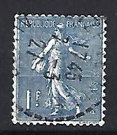 France 1924-32  Semeuse (o) Yvert 205 - 1903-60 Sower - Ligned