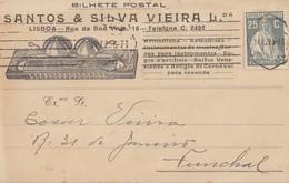 Portugal: 1927: Lisboa Nach Funchal - Portugal