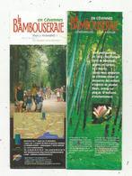 Dépliant Touristique , LA BAMBOUSERAIE , En Cévennes , 30, ANDOUZE , Gard , 16 Pages, 3 Scans - Dépliants Touristiques