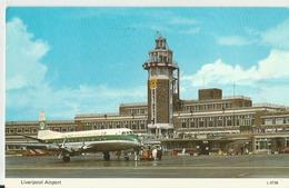 LIVERPOOL AIRPORT - AEROPLANO  (343) - Aerodromi