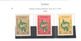 Siria PO 1968 Mani Gun Torcia   Scott.502/504 New See Scan On Scott.Page - Siria