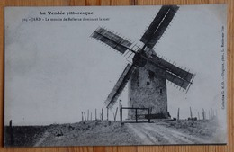 85 : Jard - Le Moulin De Bellevue Dominant La Mer - Plan Inhabituel - (n°13385) - Andere Gemeenten