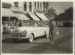 LESSINES - Grand-place - Année 1950 - Photo 23.5 X 17.5 Cm (oldtimer) - Lessines