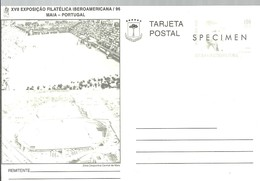 TARJETA POSTAL SPECIMEN 1996 - Equatorial Guinea