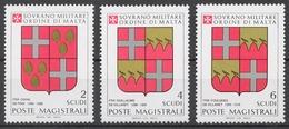 SMOM 1983 Sas# 218-20** GRAND MASTERS COAT OF ARMS - Malte (Ordre De)
