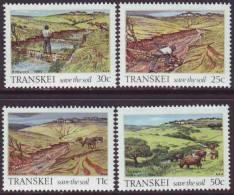 D90819 Transkei South Africa 1985 ECOLOGY SOIL EROSION MNH Set - Afrique Du Sud Afrika RSA Sudafrika - Transkei