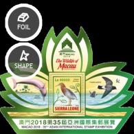 SIERRA LEONE 2018 Wildlife Of Macau  MS - Sierra Leone (1961-...)