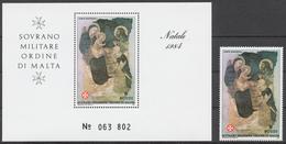 SMOM 1984 Sas# 230+ Bl.18** CHRISTMAS - Malte (Ordre De)