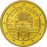 Autriche, 50 Euro Cent, 2004, SPL, Laiton, KM:3087 - Autriche