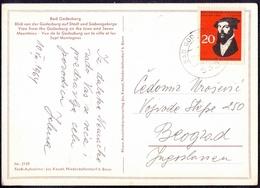 GERMANY - REFORM. J.  CALVIN On Postcard - 1964 - Theologen