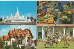 4 CART. THAILAND  (370) - Tailandia