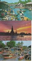 3 CART. THAILAND  (371) - Tailandia