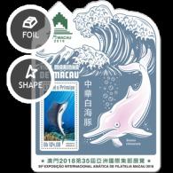 Sao Tome 2018 Marine Life Of Macau Fish - Sao Tome And Principe