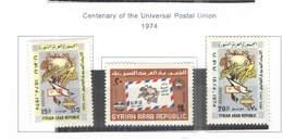 Siria PO 1974 Cent.Upu Scott.674/676 New See Scan On Scott.Page - Siria