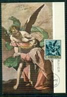 "CM-Carte Maximum Card-Tarjeta Maxima #1969-Espana,Spanien#Tableau,Gemälde,painting By A.Cano ""  San Juan Bautista "" - Cartes Maximum"