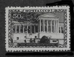 Russia/USSR 1939,Sanatoriums 50 Kop,Scott # 754,VF Mint Hinged*OG - 1923-1991 UdSSR