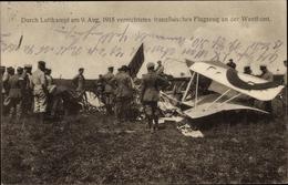 Cp Vernichtetes Französisches Flugzeug An Der Westfront, Luftkampf 1915, I. WK - Avions