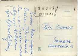 "Yugoslavia Ljubljana Postcard - Slogan / Flamme ,,KUPUJ DELO ! "" - 1945-1992 Sozialistische Föderative Republik Jugoslawien"