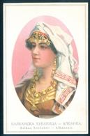 Bulgaria Balkan Schonheit Beauty Albanesin Albania 1912 Written - Bulgaria