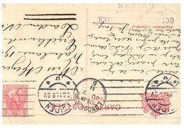 (25) Netherlands To England (1907 ?) Stamped Postcard - Periode 1891-1948 (Wilhelmina)
