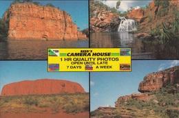 Australia - Ayers Rock - Edith Falls - Nourlangie Rock Kakadu - Jedda's Leap, Katherine Gorge - Alice Springs