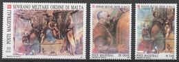 SMOM 1987 Sas# 276-78** FRESCOES - Malte (Ordre De)