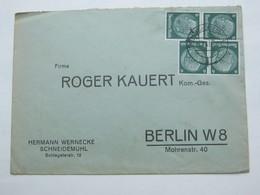 1941 , SCHNEIDEMÜHL  , Recht Klare Stempel Auf Firmenbrief - Deutschland