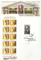 BELG.2006 BL127** Met Handtekening Ontwerper Tevens BF127  Zwart Wit Velletje 2006 - Leopold I & F3464/65** ALLES Met Ha - Blocks & Sheetlets 1962-....