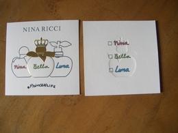 Carte Ricci Princess Life - Cartes Parfumées