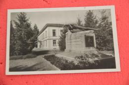 Ticino Lugano L' Ospedale Italiano E Il Monumento Ai Caduti 1930 - TI Tessin