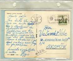 "Yugoslavia 1972 Sibenik Postcard - Slogan / Flamme ,,SOLARIS Sibenik Yugoslavia"" - Briefe U. Dokumente"