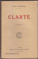 C1  14 18 Henri BARBUSSE - CLARTE 1920 Pacifisme - Books