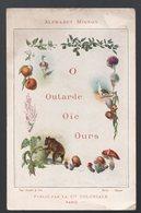 Alphabet MIGNON (format CPA)  : Le O (orange, Olive, Oignon Etc) COMPAGNIE COLONIALE   (PPP15521) - Old Paper