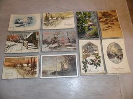 Grand Lot De 500 Cartes Postales De Fantaisie Paysage Paysages     Groot Lot Van 500 Postkaarten Van Fantasie Landschap - Cartoline