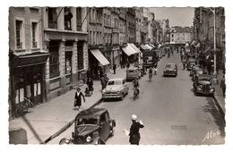 50 MANCHE - CHERBOURG La Rue Albert Mahieu - Cherbourg