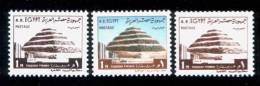 EGYPT / 1972 / COLOUR VARIETY / STEP PYRAMID ; SAKKARA / EGYPTOLOGY / MNH / VF . - Egypt