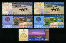EGYPT / 2007-2008-2013 / TOURISM / UTOPIA RESORT ; MARSA ALAM ( RED SEA ) / HURGHADA  : MAKADI & SAHL HASHEESH / MNH - Egypt