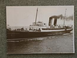 ISLE OF MAN STEAM PACKET VICTORIA - MODERN CARD - Ferries