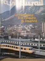 Vie Du Rail 1940 1984 Nantes Grenoble Chambery  Gare De Troyes Abidjan Lagune Tournes - Trains