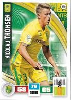 CARTE PANINI ADRENALYN XL LIGUE 1 SAISON 2016-17  FC NANTES NICOLAJ THOMSEN - Trading Cards
