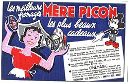 C C/Buvard   Cinémagic Mère Picon (N= 2) - Cinéma & Theatre