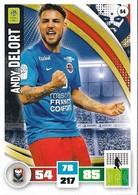 CARTE PANINI ADRENALYN XL LIGUE 1 SAISON 2016-17  STADE MALHERBE DE CAEN ANDY DELORT - Trading Cards