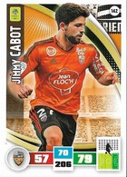 CARTE PANINI ADRENALYN XL LIGUE 1 SAISON 2016-17  FC LORIENT JIMMY CABOT - Trading Cards