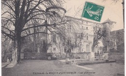 13 Bouches-du-Rhône - Château De La ROQUE-d'ANTHERON - Cour D'Honneur - Autres Communes