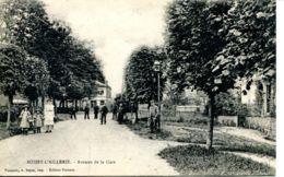 N°2201 A -cpa Boissy L'Aillerie -avenue De La Gare- - Boissy-l'Aillerie
