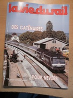 Vie Du Rail 2015 1985 Nevers Charité Sur Loire Rotonde Sarreguemines Nantes Aurillac Salers Cantales Strasbourg - Trains